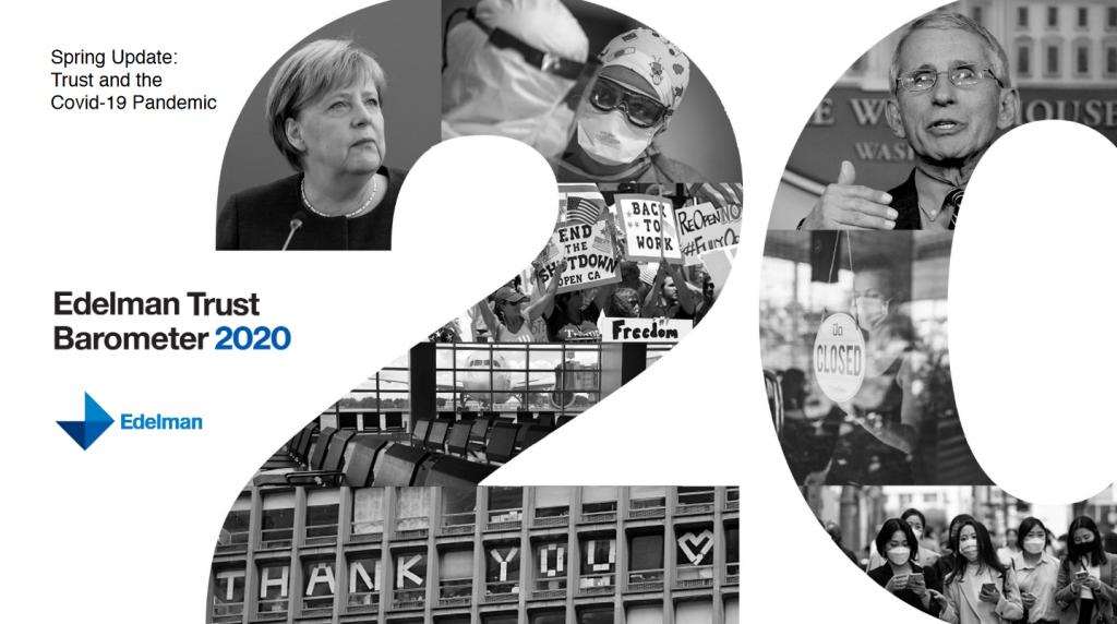 Raport Edelman Trust Barometer 2020 – Zaufanie w czasie pandemii COVID-19